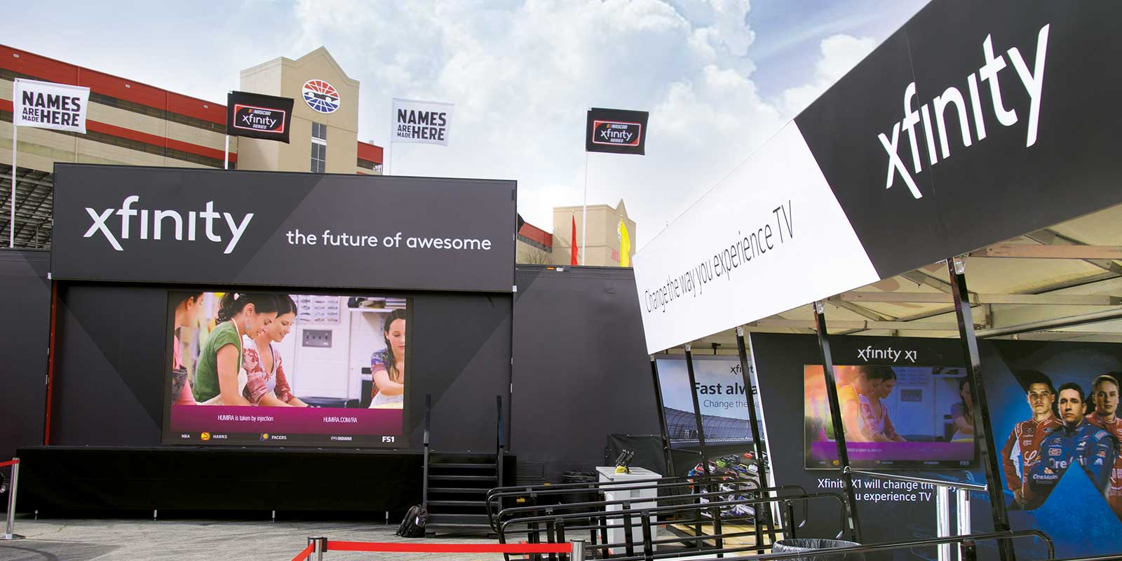40' CONTAINER AND 53' SEMI / INTERACTIVE EXPERIENCE
